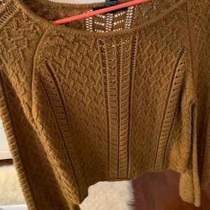 Mustard Tan sweater